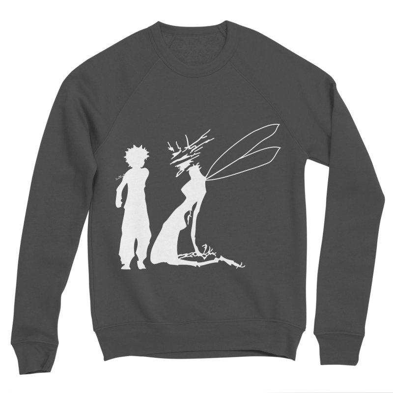 Killua white Men's Sponge Fleece Sweatshirt by Synner Design
