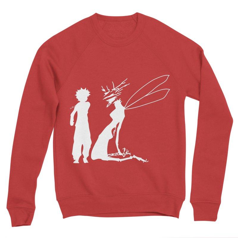 Killua white Women's Sponge Fleece Sweatshirt by Synner Design