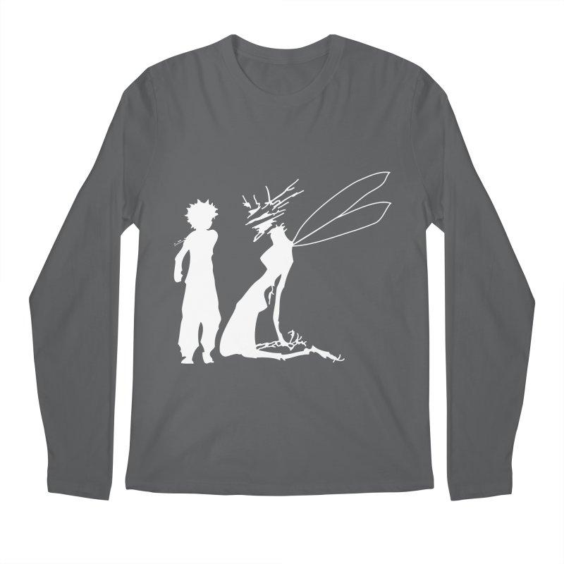 Killua white Men's Longsleeve T-Shirt by Synner Design