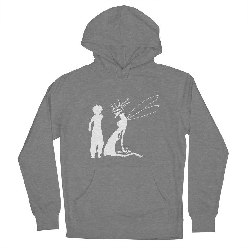 Killua white Men's French Terry Pullover Hoody by Synner Design