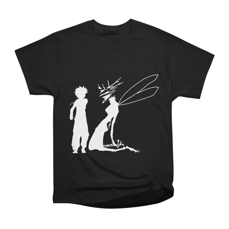 Killua white Men's Heavyweight T-Shirt by Synner Design