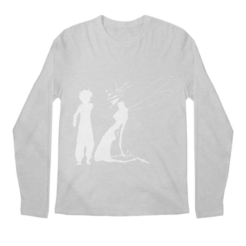Killua white Men's Regular Longsleeve T-Shirt by Synner Design