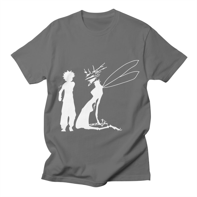 Killua white Women's Regular Unisex T-Shirt by Synner Design