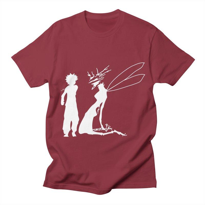 Killua white Women's Regular Unisex T-Shirt by Synner Design