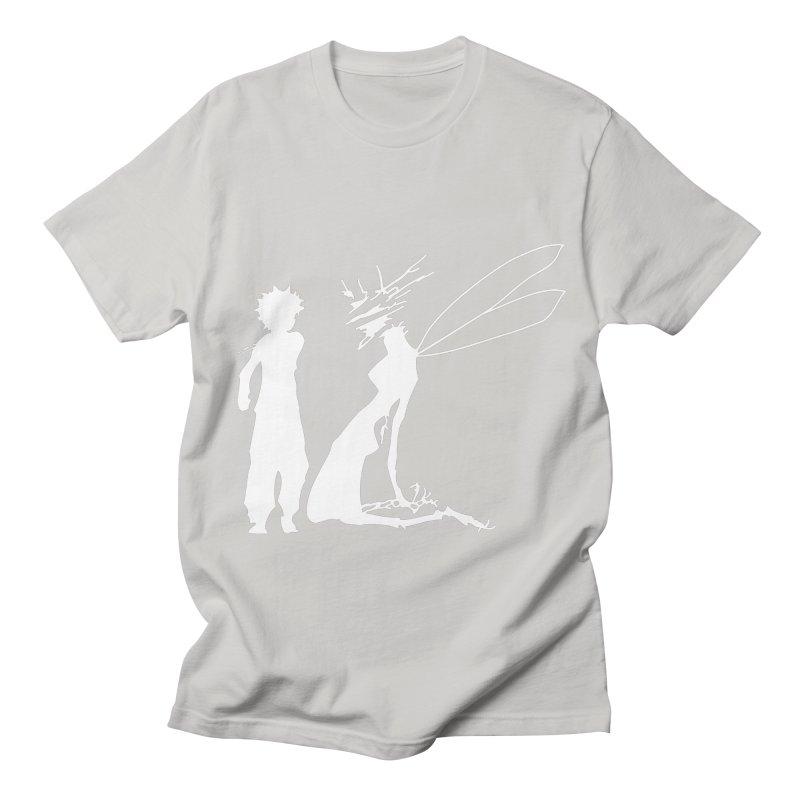 Killua white Men's Regular T-Shirt by Synner Design