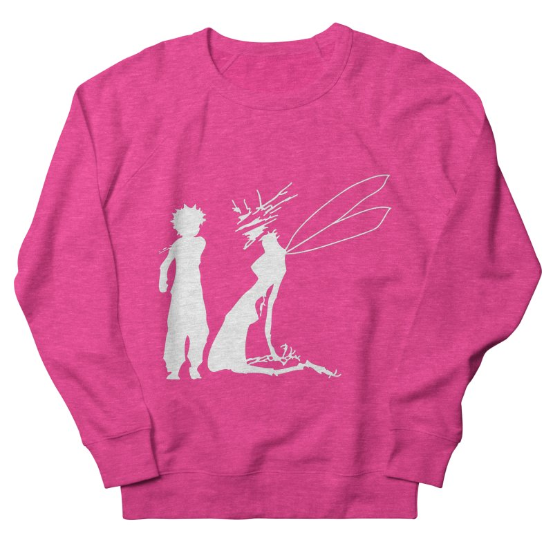 Killua white Women's French Terry Sweatshirt by Synner Design