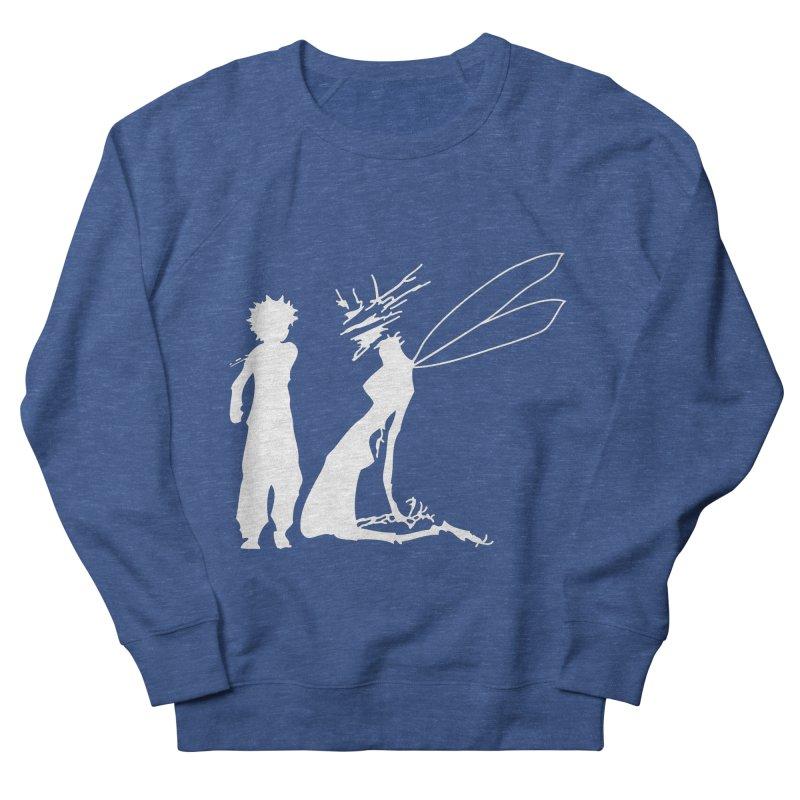 Killua white Men's French Terry Sweatshirt by Synner Design