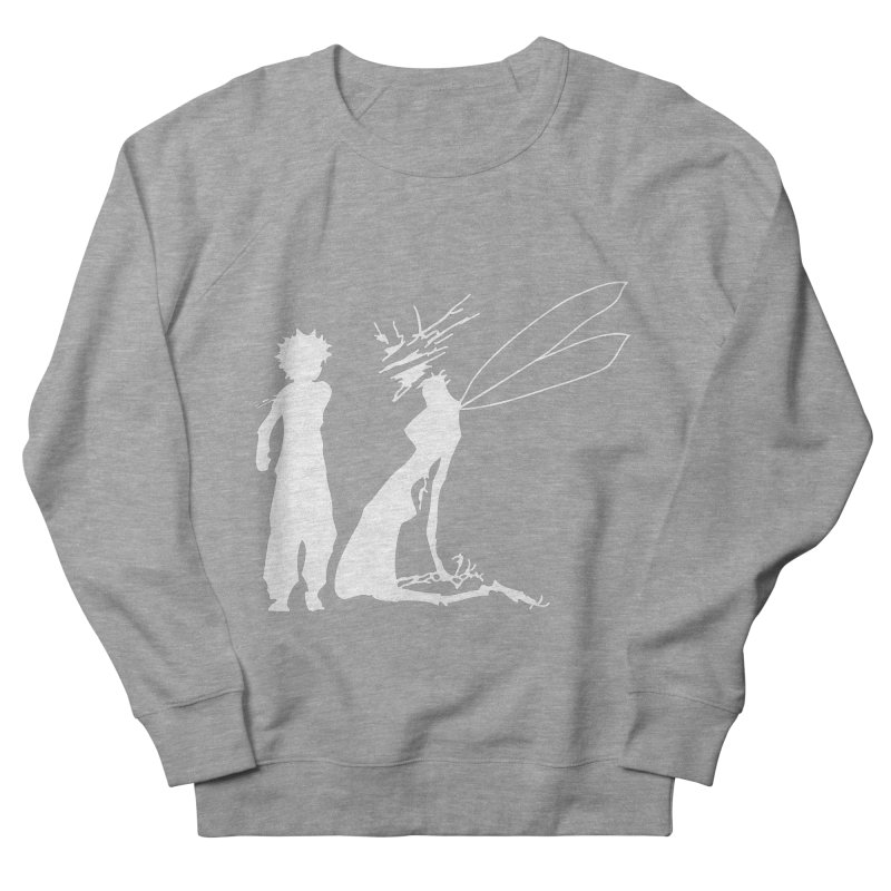 Killua white Men's French Terry Sweatshirt by Synner Design