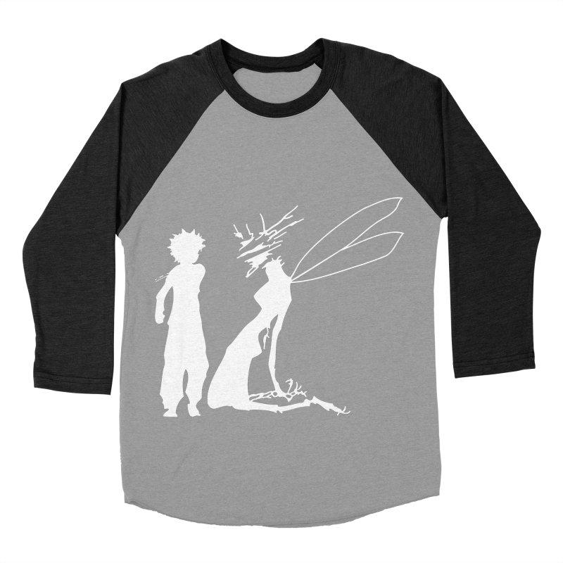 Killua white Women's Baseball Triblend Longsleeve T-Shirt by Synner Design