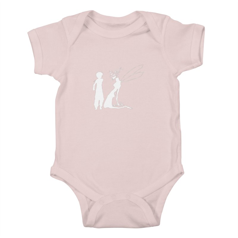 Killua white Kids Baby Bodysuit by Synner Design