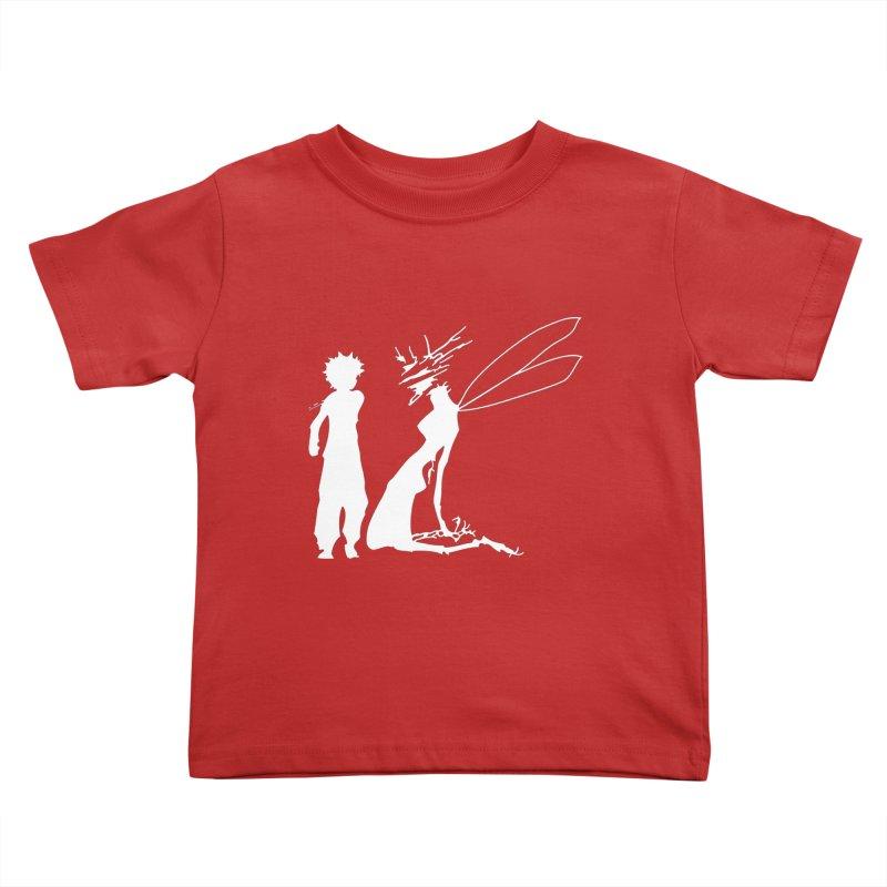 Killua white Kids Toddler T-Shirt by Synner Design