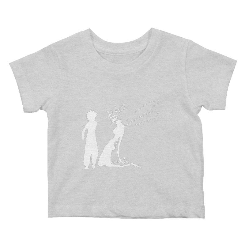 Killua white Kids Baby T-Shirt by Synner Design