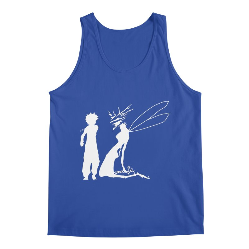 Killua white Men's Regular Tank by Synner Design
