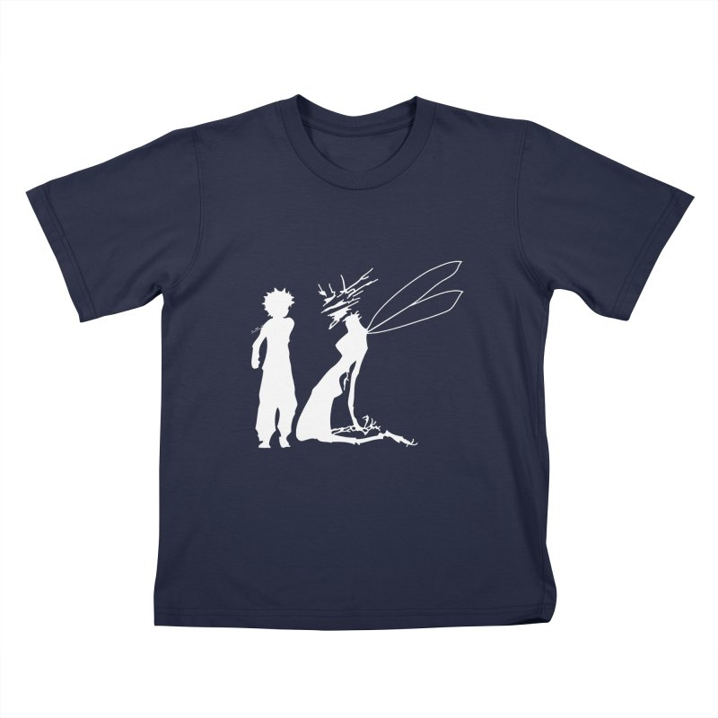 Killua white Kids T-Shirt by Synner Design