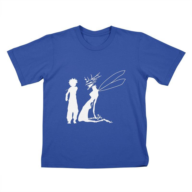 Killua white Kids T-Shirt by Synner Design