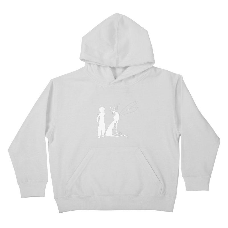 Killua white Kids Pullover Hoody by Synner Design