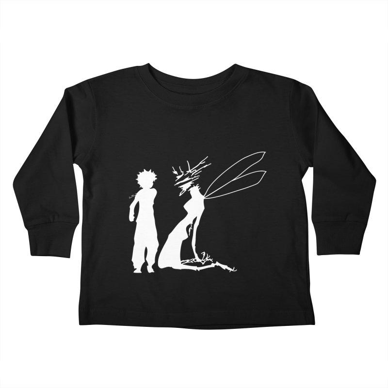 Killua white Kids Toddler Longsleeve T-Shirt by Synner Design