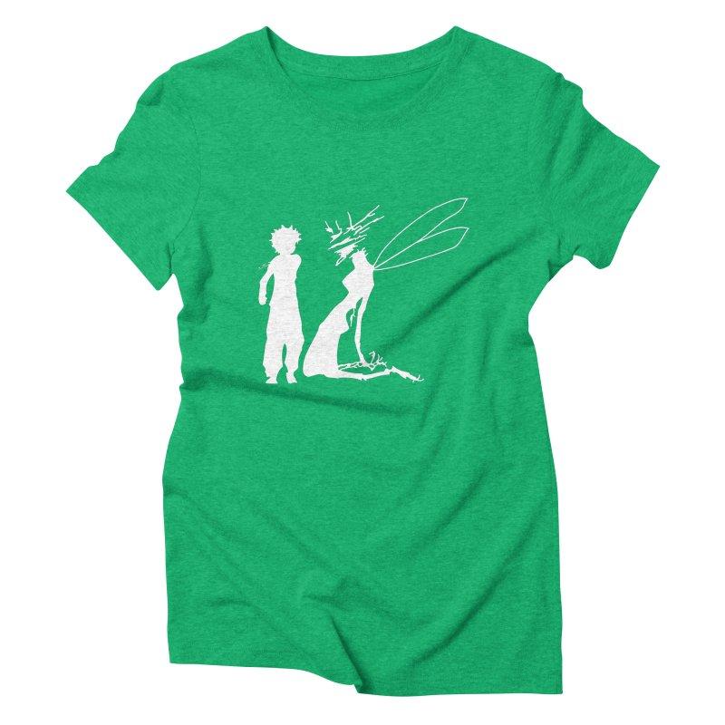 Killua white Women's Triblend T-Shirt by Synner Design