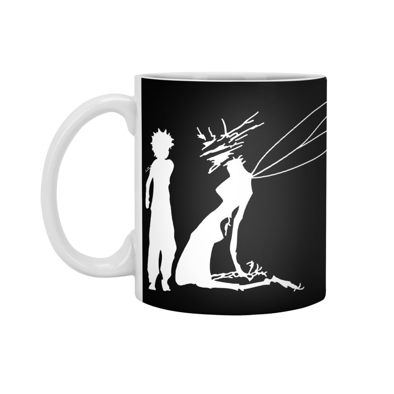 Killua white Accessories Mug by Synner Design