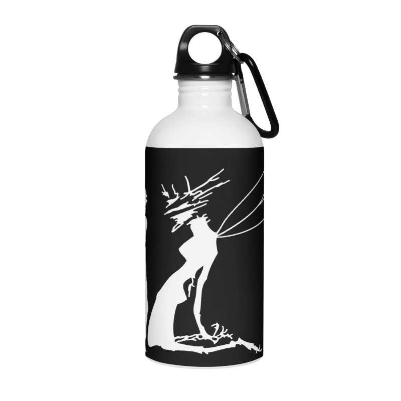 Killua white Accessories Water Bottle by Synner Design