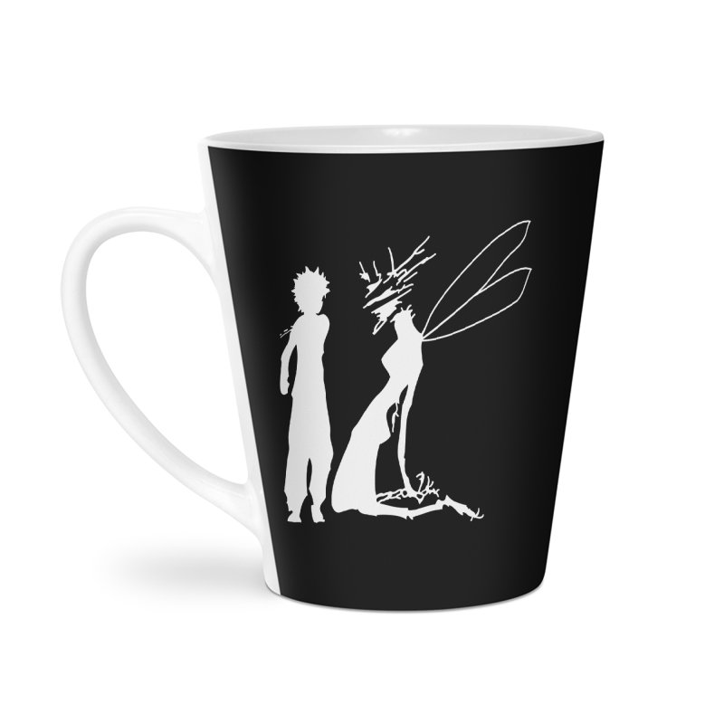 Killua white Accessories Latte Mug by Synner Design