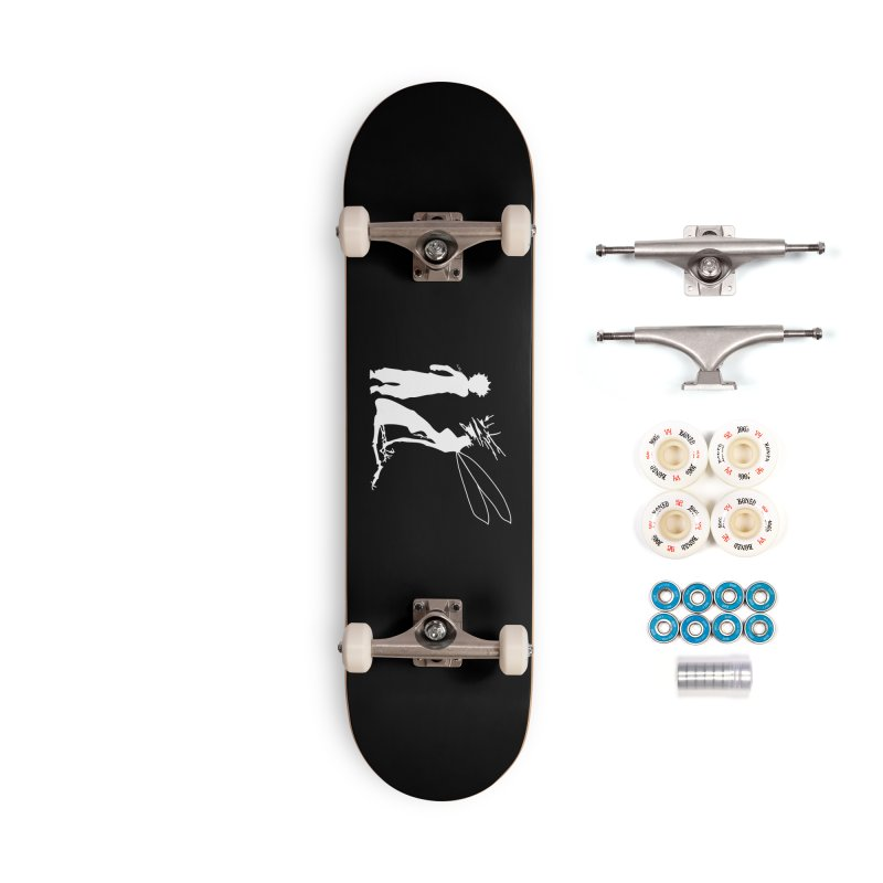 Killua white Accessories Complete - Premium Skateboard by Synner Design