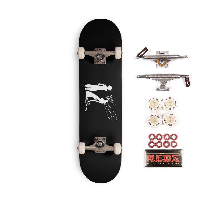 Killua white Accessories Complete - Pro Skateboard by Synner Design