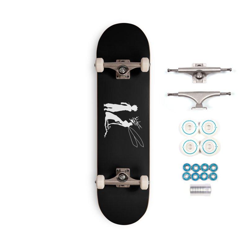 Killua white Accessories Complete - Basic Skateboard by Synner Design