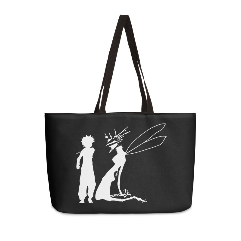 Killua white Accessories Weekender Bag Bag by Synner Design