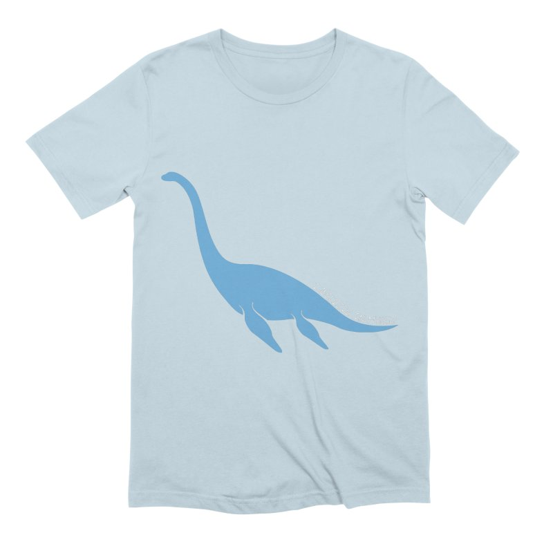 Nessie believe white Men's Extra Soft T-Shirt by Synner Design