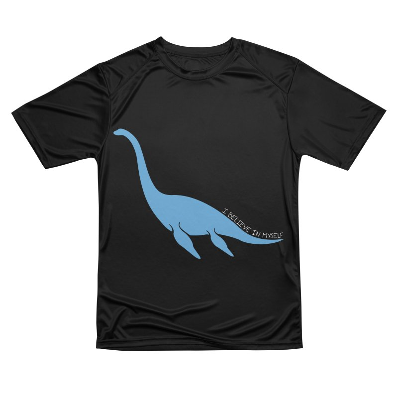 Nessie believe white Men's Performance T-Shirt by Synner Design
