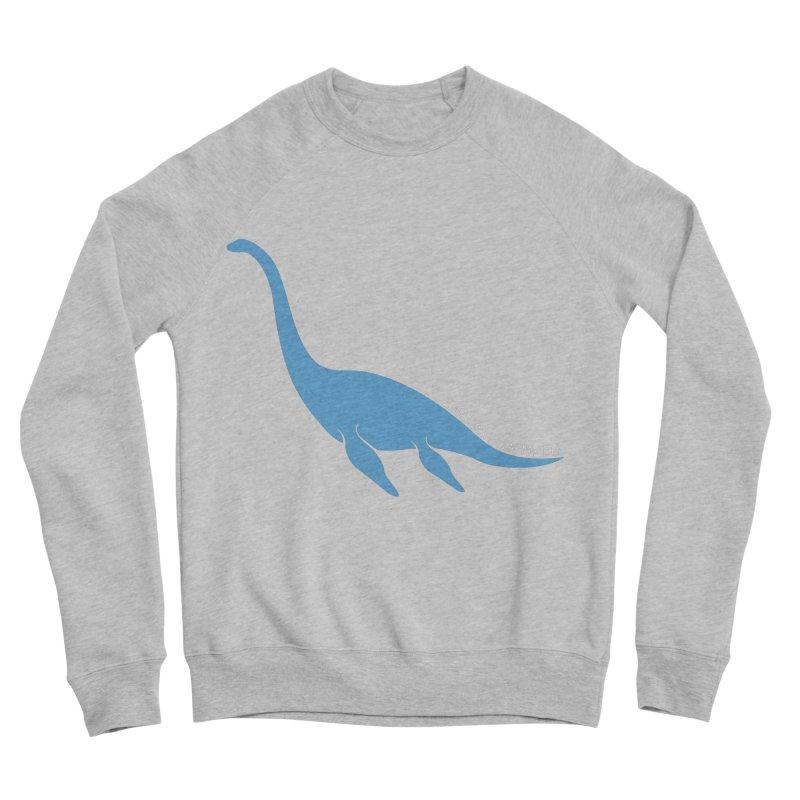 Nessie believe white Women's Sponge Fleece Sweatshirt by Synner Design