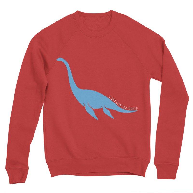 Nessie believe white Men's Sweatshirt by Synner Design