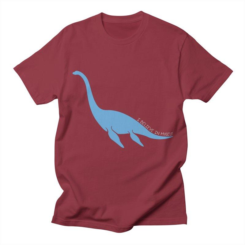 Nessie believe white Women's T-Shirt by Synner Design