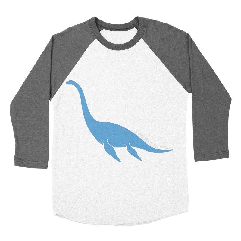 Nessie believe white Women's Longsleeve T-Shirt by Synner Design
