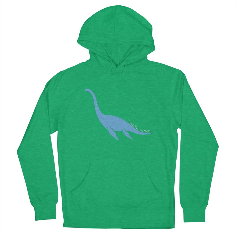 Nessie believe white Women's Pullover Hoody by Synner Design
