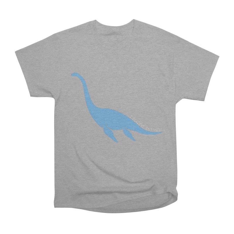 Nessie believe white Men's Heavyweight T-Shirt by Synner Design