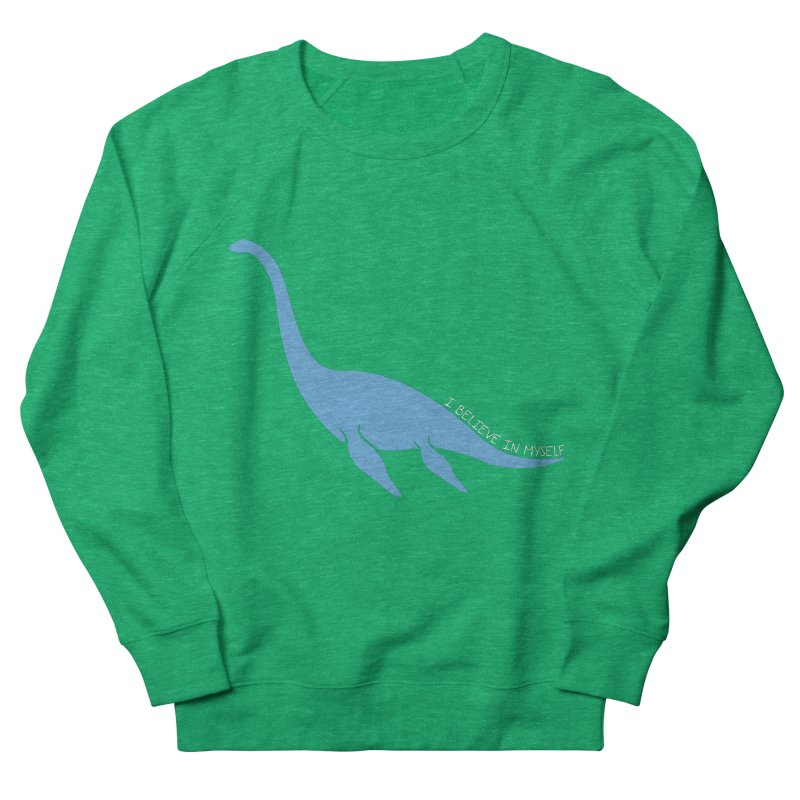 Nessie believe white Women's Sweatshirt by Synner Design