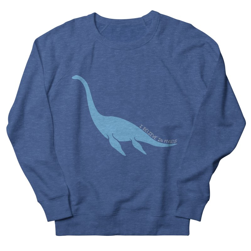 Nessie believe white Men's Sweatshirt by Synner Design