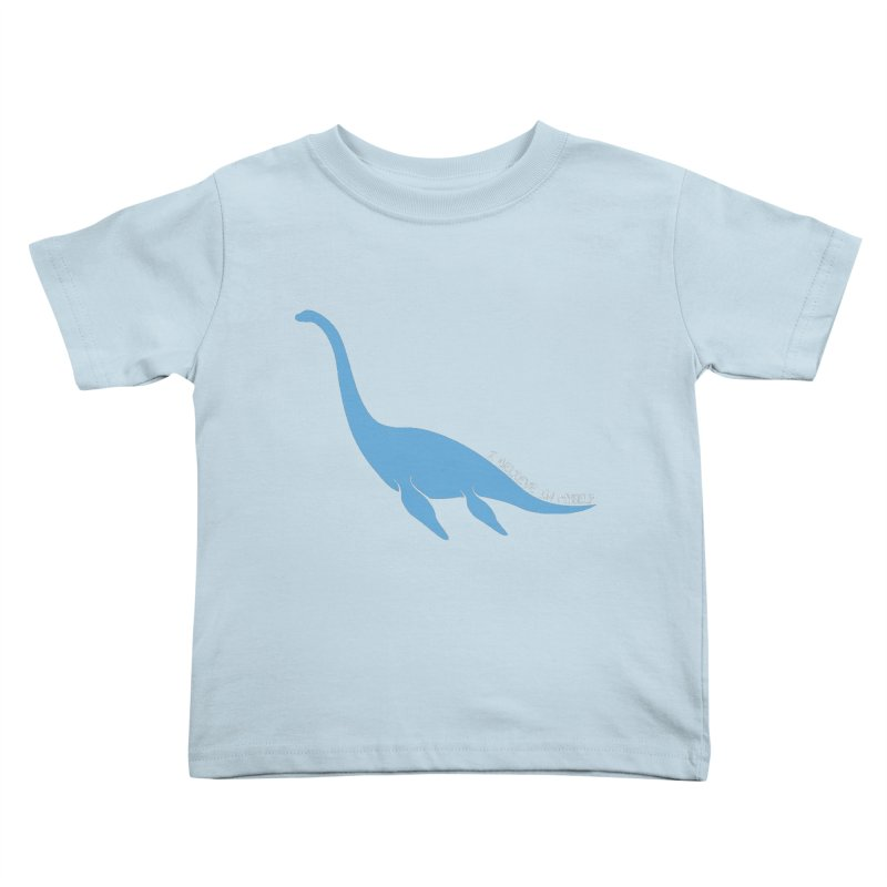 Nessie believe white Kids Toddler T-Shirt by Synner Design