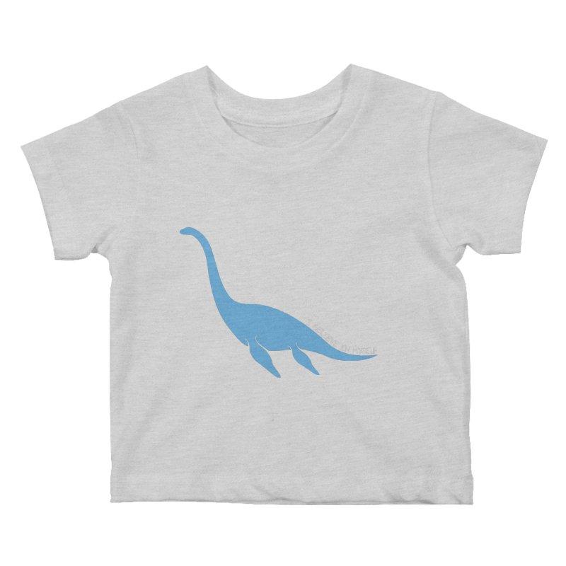 Nessie believe white Kids Baby T-Shirt by Synner Design