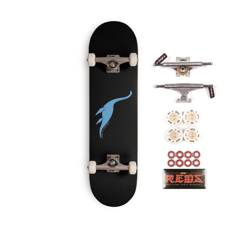 Nessie believe white Accessories Complete - Pro Skateboard by Synner Design