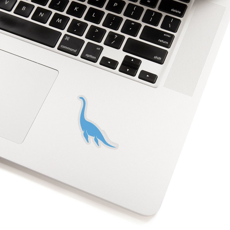Nessie believe white Accessories Sticker by Synner Design