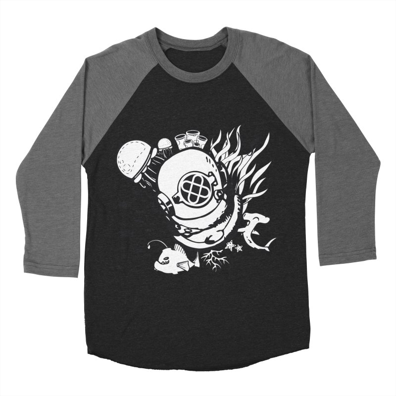Into the ocean Women's Baseball Triblend Longsleeve T-Shirt by Synner Design