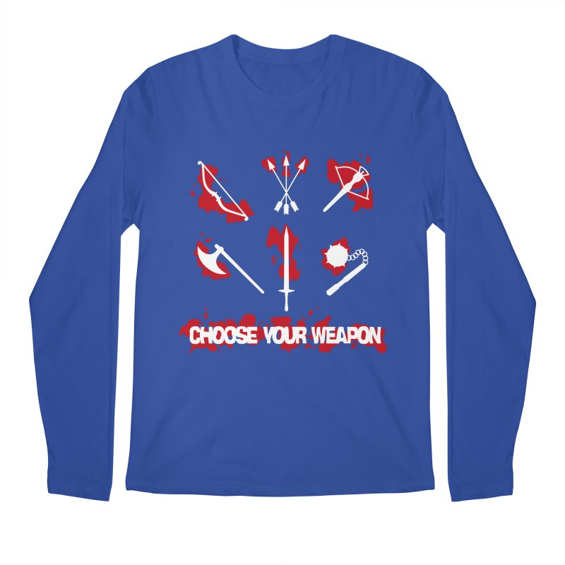 Choose your weapon Men's Longsleeve T-Shirt by Synner Design