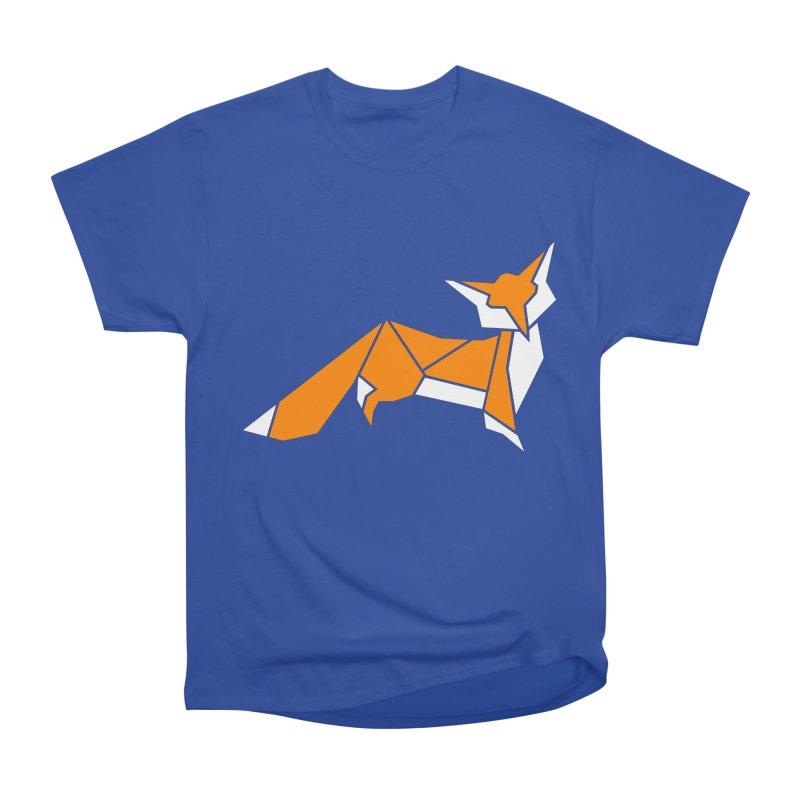 Little Fox origami Women's T-Shirt by Synner Design