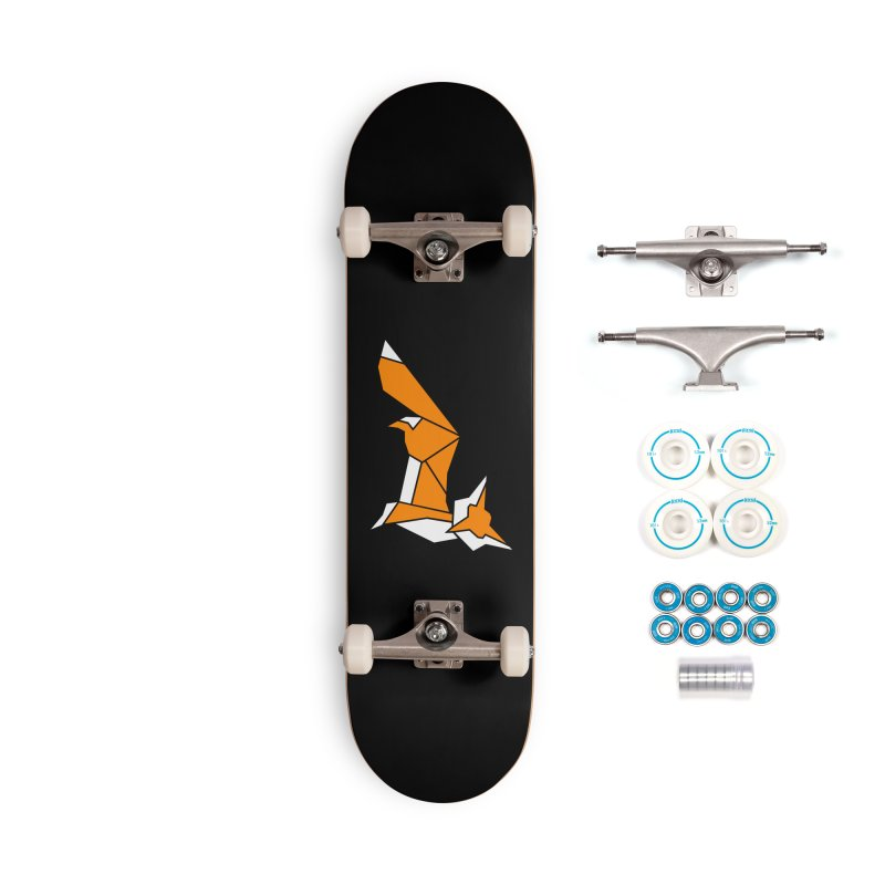 Little Fox origami Accessories Complete - Basic Skateboard by Synner Design