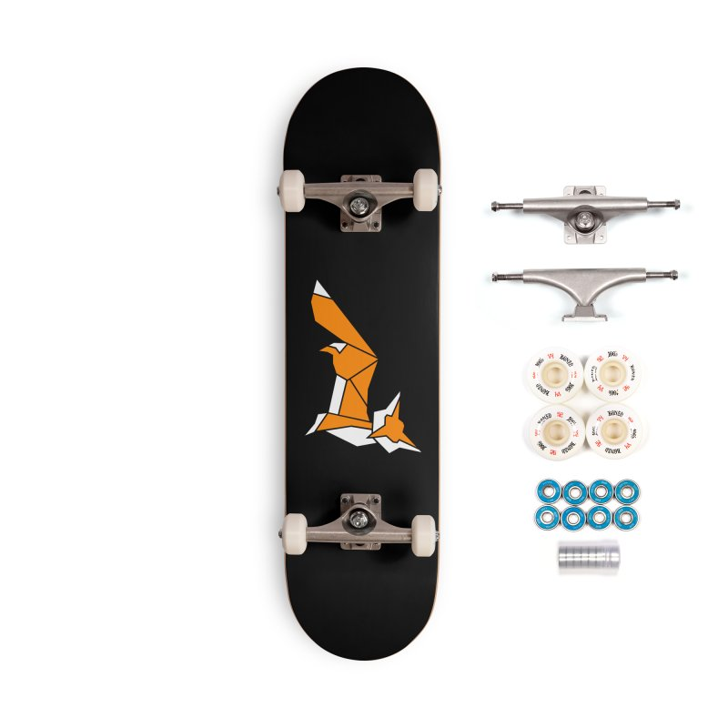 Little Fox origami Accessories Complete - Premium Skateboard by Synner Design