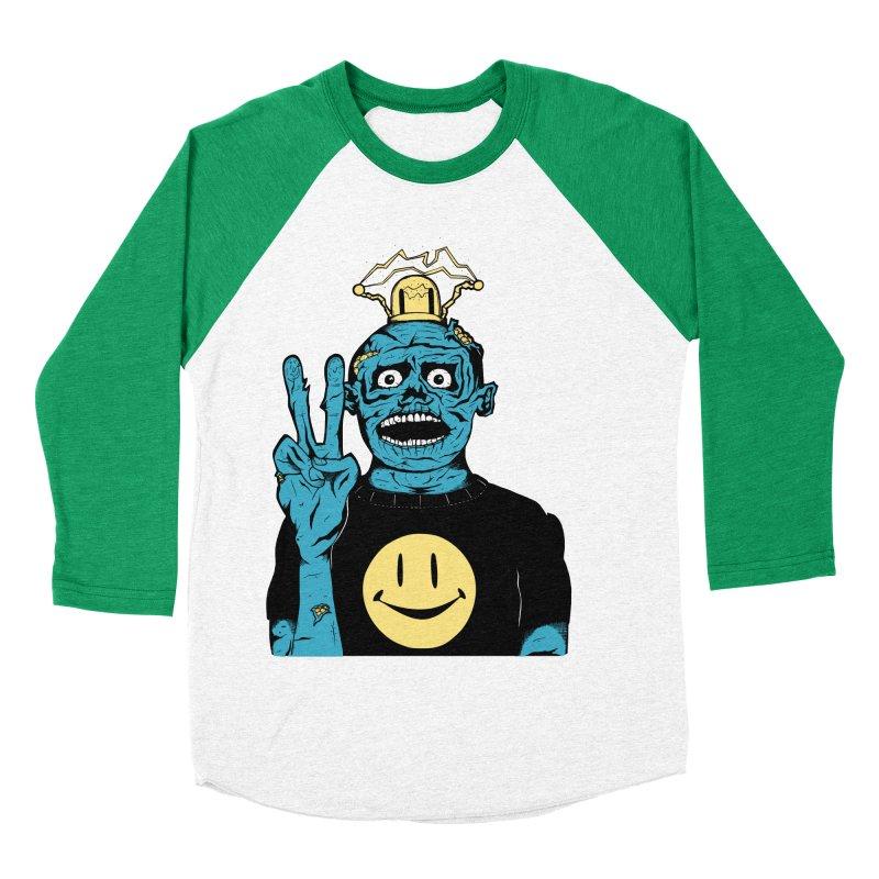 The Peaceful Undead Men's Baseball Triblend T-Shirt by danielcrichton's Artist Shop