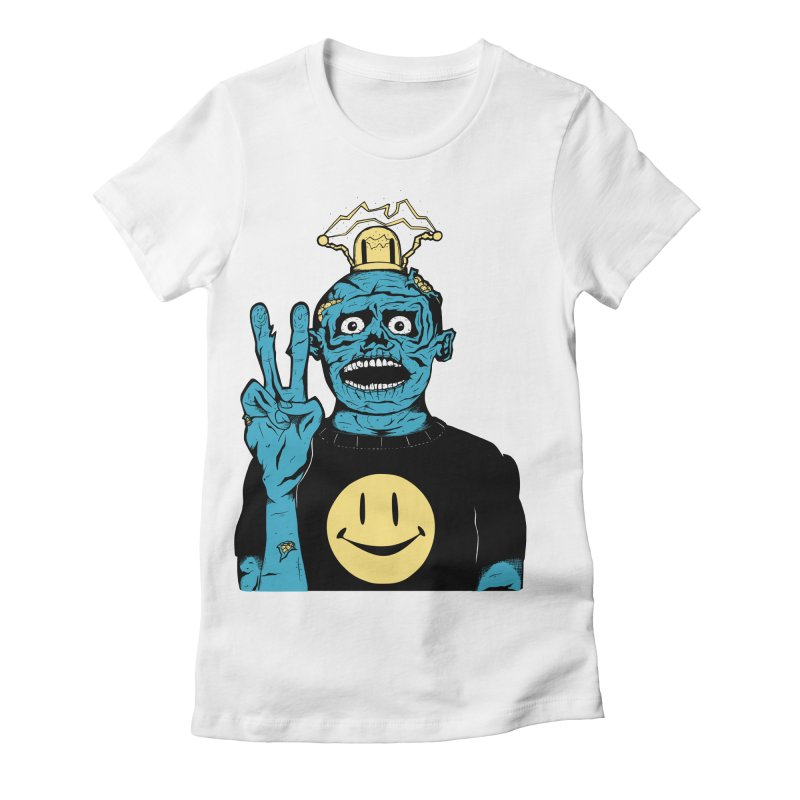 The Peaceful Undead Women's Fitted T-Shirt by danielcrichton's Artist Shop